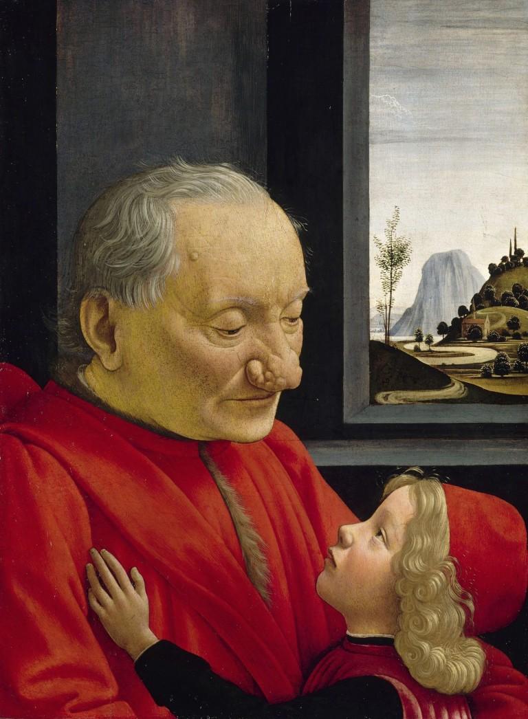 """Domenico Ghirlandoio """"Starzec i chłopiec"""""""